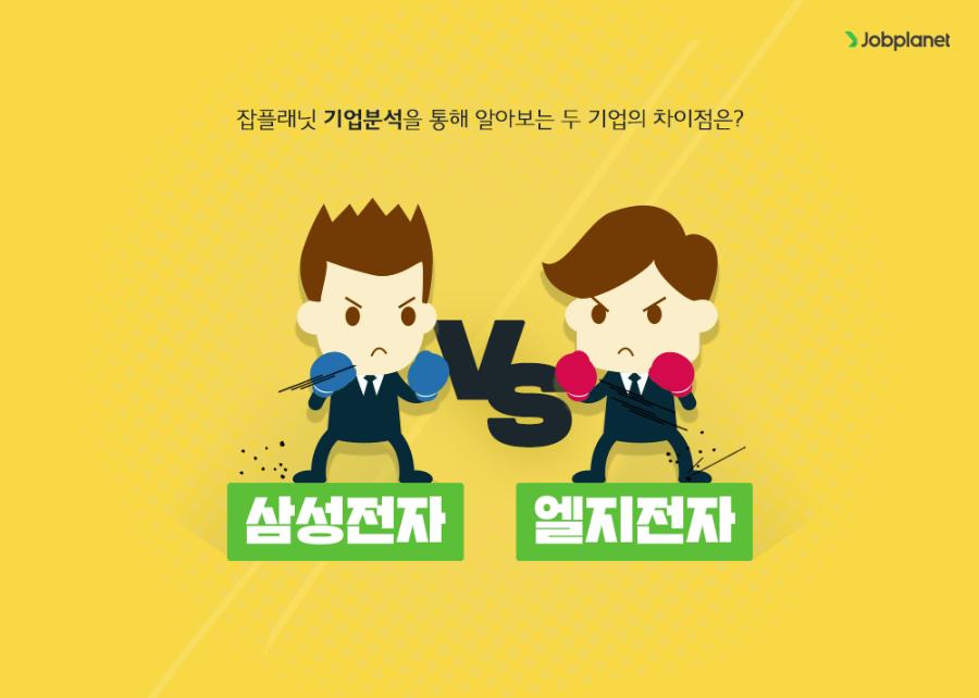 삼성전자 vs 엘지전자? 잡플래닛 기업분석을 통해 본 대한민국 대표 두 기업!!